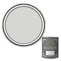 Peinture pour meubles Rust-Oleum gris colombe effet poudré satin 0,75L