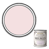 Peinture pour meubles Rust-Oleum rose de Chine effet poudré mat intense 0,75L