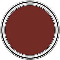 Peinture pour meubles Rust-Oleum rouge brique effet poudré mat intense 125ml