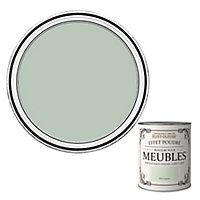 Peinture pour meubles Rust-Oleum vert laurier effet poudré mat intense 0,75L