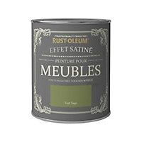 Peinture pour meubles Rust-Oleum vert sage effet poudré satin 125ml