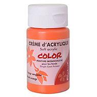 Peinture pour pochoir 55 ML Orange sanguine