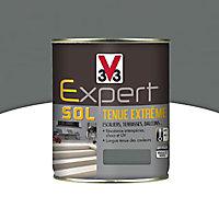 Peinture pour sol intérieur extérieur tenue extrême V33 carbone 500 ml