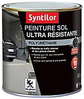 Peinture pour sol ultra résistante pierre blanche satin Syntilor 500ml