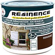 Peinture rénovation multi-supports Résinence havane satin Résinence 0,25L
