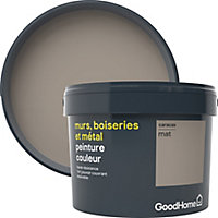 Peinture résistante murs, boiseries et métal GoodHome beige Caracas mat 2,5L