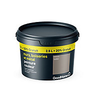 Peinture résistante murs boiseries et métal GoodHome beige Caracas satin 2,5L +20%
