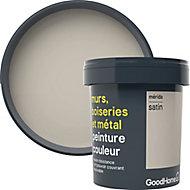 Peinture résistante murs, boiseries et métal GoodHome beige Mérida satin 0,75L