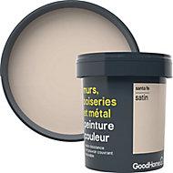 Peinture résistante murs, boiseries et métal GoodHome beige Santa Fe satin 0,75L