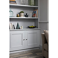Peinture résistante murs, boiseries et métal GoodHome gris Brooklyn satin 0,75L