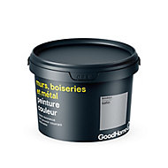 Peinture résistante murs, boiseries et métal GoodHome gris Brooklyn satin 2,5L