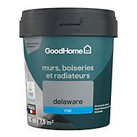 Peinture résistante murs, boiseries et métal GoodHome gris Delaware mat 0,75L