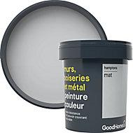 Peinture résistante murs, boiseries et métal GoodHome gris Hamptons mat 0,75L