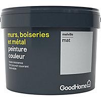 Peinture résistante murs, boiseries et métal GoodHome gris Melville mat 2,5L