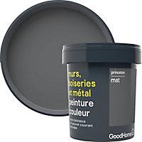 Peinture résistante murs, boiseries et métal GoodHome gris Princeton mat 0,75L