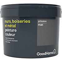 Peinture résistante murs, boiseries et métal GoodHome gris Princeton mat 2,5L