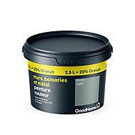 Peinture résistante murs boiseries et métal GoodHome vert Kilkenny satin 2,5L +20%