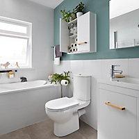 Peinture résistante murs, boiseries et métal GoodHome vert Kilkenny satin 2,5L
