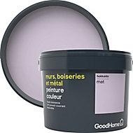 Peinture résistante murs, boiseries et métal GoodHome violet Hokkaido mat 2,5L