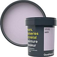 Peinture résistante murs, boiseries et métal GoodHome violet Hokkaido satin 0,75L