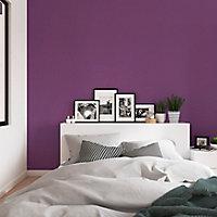 Peinture résistante murs, boiseries et métal GoodHome violet Shizuoka satin 2,5L