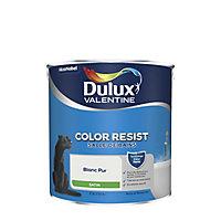 Peinture salle de bain Dulux Valentine Blanc satin 2,5L