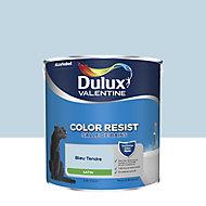 Peinture salle de bain Dulux Valentine bleu tendre satin 2,5L