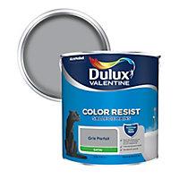 Peinture salle de bain Dulux Valentine gris parfait satin 2,5L