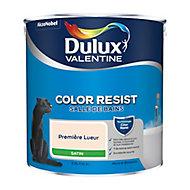 Peinture salle de bain Dulux Valentine première lueur satin 2,5L