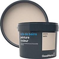Peinture salle de bains GoodHome beige Santa Fe satin 2,5L