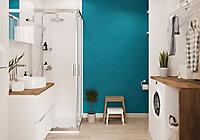 Peinture salle de bains GoodHome bleu Marseille satin 2,5L