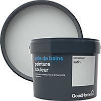 Peinture salle de bains GoodHome gris Hempstead satin 2,5L