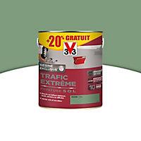 Peinture sol Int/ext trafic extrême Vert mousse 2,5L + 20%