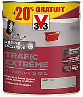 Peinture sol intérieur extérieur trafic extrême V33 galet 2,5L + 20% gratuit