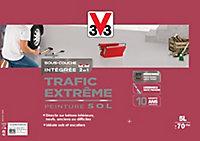 Peinture sol intérieur extérieur trafic extrême V33 gris clair Syntilor 5 L