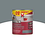 Peinture sol intérieur extérieur trafic extrême V33 gris foncé 2,5L + 20% gratuit