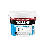 Peinture Tollens blanc mat série limitée murs & plafonds 10L