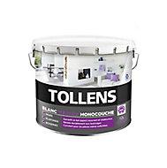 Peinture Tollens blanc velours monocouche 10L
