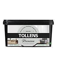 Peinture Tollens premium murs, boiseries et radiateurs beige grisé satin 2,5L