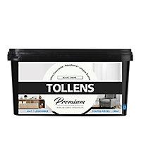 Peinture Tollens premium murs, boiseries et radiateurs blanc crème mat 2,5L