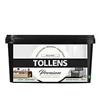 Peinture Tollens premium murs, boiseries et radiateurs bulle d'air satin 2,5L