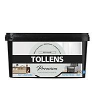 Peinture Tollens premium murs, boiseries et radiateurs gris lunaire mat 2,5L