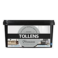 Peinture Tollens premium murs, boiseries et radiateurs gris minéral mat 2,5L