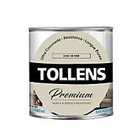 Peinture Tollens premium murs, boiseries et radiateurs jonc de mer mat 0,75L
