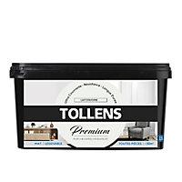 Peinture Tollens premium murs, boiseries et radiateurs lait d'avoine mat 2,5L