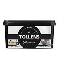 Peinture Tollens premium murs, boiseries et radiateurs noir mat 2,5L