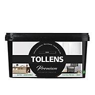 Peinture Tollens premium murs, boiseries et radiateurs noir satin 2,5L