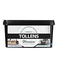 Peinture Tollens premium murs, boiseries et radiateurs papier de soie mat 2,5L