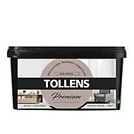 Peinture Tollens premium murs, boiseries et radiateurs rose antique satin 2,5L