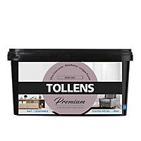 Peinture Tollens premium murs, boiseries et radiateurs rose chic mat 2,5L